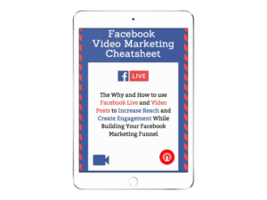 Facebook Live Video Marketing Cheatsheet
