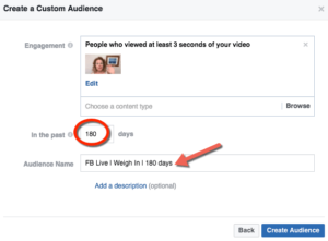 Facebook Video Audiences